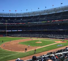 April 4, 2016 - Opening Day at Yankee Stadium, the home of the New York Yankees.
