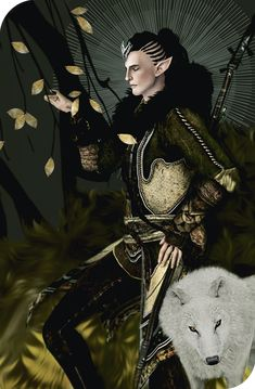 Dragon Age: Inquisition - Young Solas/Fen'Harel, by boconoist