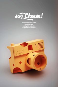 Say cheese! by wanda hutira, via Behance