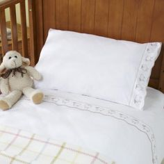 Organic Cotton Cot Duvet Cover - Counting Sheep - £35.00 - Fabulous Baby Bed Linen from The Wool Room