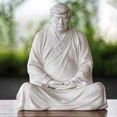 Trump Buddha Statue