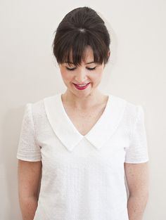 Lisa designed the Susie Blouse (previously known as the Ultimate Blouse!) after finding a gap in her wardrobe for a simple yet versatile everyday top. A true st