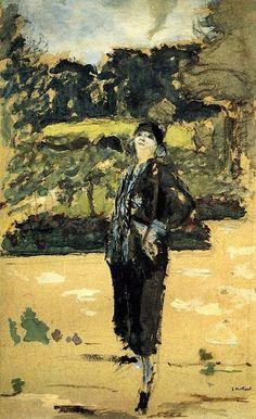 Edouard Vuillard - Black Dress