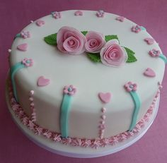 Rose birthday cake by Toucan6, via Flickr