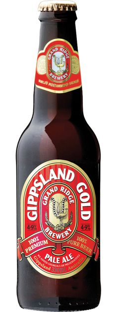 Grand Ridge Gippsland Gold - cracking brew