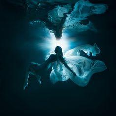 """Moonlight Butterfly"" — Photographer/Designer/Props/Makeup: Lucie DrlikovaModel…"