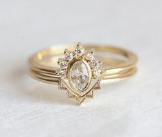 5 nesting wedding rings