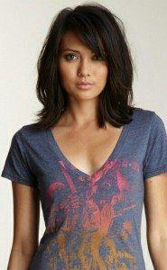 Shoulder Length Hair Dark Brown