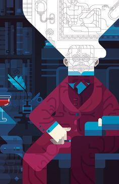 The Man Who Knew It All on Behance