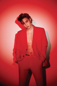 """181207 — Exo to release their Repackage album """"Love Shot"""" on December They started to share photo teaser for their upcoming album with hot pictures of Kai and Sehun in Red 🔥 Checkout their teaser below Kpop Exo, Baekhyun Chanyeol, Park Chanyeol, Taemin, Girls Generation, Luhan And Kris, Kris Wu, Exo Album, Xiuchen"""