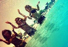 beach, friends, girls, photography - inspiring picture on Favim.com