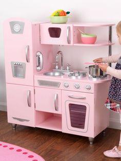 Pink Vintage Kitchen, Kidkraft | MARKABEBE.COM