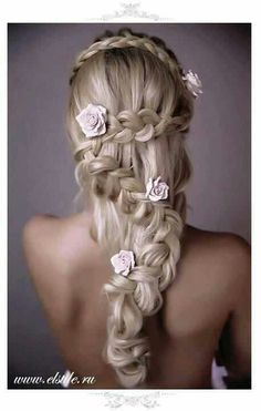 ~ Beautiful Wedding Hair ~