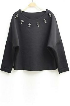 Loose Cross Sweatshirt