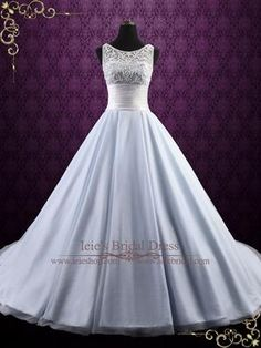 Beautiful Frozen inspired ice blue wedding gown with bodice with snowflake inspired embroidery, accented with ivory beadings, perfect for your winter wedding. Photoed in ice blue. Ice Blue Weddings, Blue Wedding Gowns, Blue Ball Gowns, Ball Dresses, Bridal Gowns, Gown Wedding, Wedding Favors, Wedding Venues, Frozen Wedding Dress