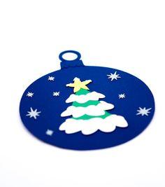 """Ornament Craciun """"Glob cu Brad"""""""