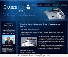 Cruise Law News : Maritime Lawyer & Attorney : James M. Walker : Walker & ONeill Law Firm : Admiralty Law, Cruise Ship Accidents & Injuries - Click to visit blog:  http://1.33x.us/ItQwpR