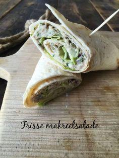 Lunchwrap frisse makreelsalade // Food & So Much More