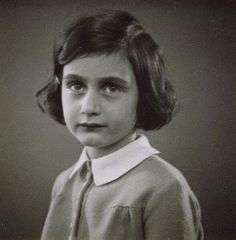 A May 1935 passport photograph of Anne Frank (from the Anne Frank Fonds-Basel/Anne Frank House and Getty Images)