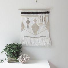 grande tenture tissés à la main tapisserie tissage | n° 072814