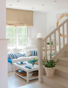blue and white living room Porch Decorating, Decorating Your Home, Interior Decorating, Home Interior, Interior Design, Blue And White Living Room, Pastel Room, Home Decor Furniture, Home And Living