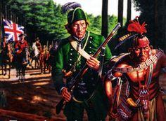British troops, Seven Years War
