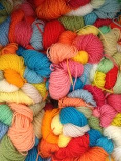 Colorful Crewel Wool for Embroidery