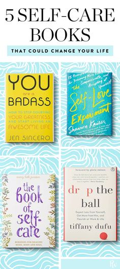 5 Self-Care Books That Are Like Getting a Big, Warm Hug #purewow #selfhelp #books #self-care