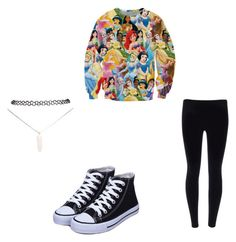 """Untitled #9"" by destinyxx8 on Polyvore featuring Disney and Wet Seal"