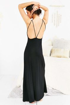 Out From Under Strappy Maxi Cover Up