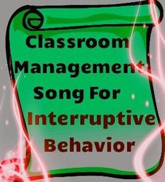 A bite size song to deal with interruptive behavior. Great for classroom mangagement!