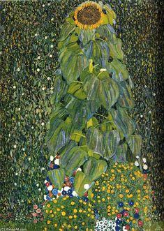 Le Tournesol, huile sur toile de Gustav Klimt (1862-1918, Austria)