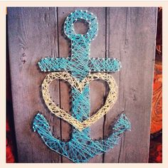 Anchor string art!