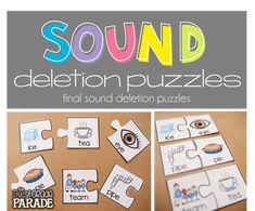 Sound deletion puzzl