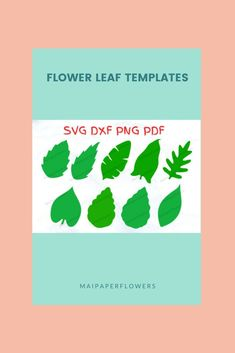 Are you looking for paper flower leaf templates Svg and Printable? This set is great for your paper flowers diy projects. Click through for more views!!! #paperflowerleaf #paperflowerleaftemplate #leaftemplatesvg #leaftemplate #paperflowersdiy #leaftemplateprintable Flower Stamen, Flower Svg, Flower Template, Big Paper Flowers, Giant Paper Flowers, Leaf Template Printable, Paper Cutting Machine, Rose Leaves, Flower Center