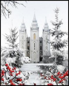 LDS Temple, Salt Lake City, Utah It is the sixth temple completed by the church… Mormon Temples, Lds Temples, Salt Lake City, Beautiful World, Beautiful Places, Utah, Salt Lake Temple, Templer, Lds Mormon
