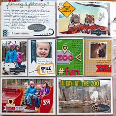 Layout: Project Life 2013 - Week 8 - Left