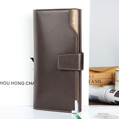 $8.79 (Buy here: https://alitems.com/g/1e8d114494ebda23ff8b16525dc3e8/?i=5&ulp=https%3A%2F%2Fwww.aliexpress.com%2Fitem%2Fshake-new-Leather-2015-Autumn-Man-wallet-Long-fund-Genuine-leather-hand-package-Korean-Leisure-time%2F32585586980.html ) Fashion Quality Soft Leather Men Wallets Black Brown Long Business Leisure Hasp Photo Credit Card Holder Wallet Free Shipping for just $8.79