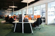 AGED CARE Open Plan Workspace. http://www.a1officefitouts.com.au/services/Open-Plan-Workstations