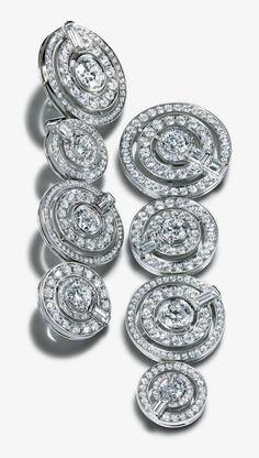 Tiffany And Co, Tiffany Blue, High Jewelry, Luxury Jewelry, Diamond Jewelry, Diamond Earrings, Platinum Earrings, Tiffany Jewelry, Tiffany Earrings