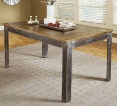 mesa de comedor de diseño minimalista