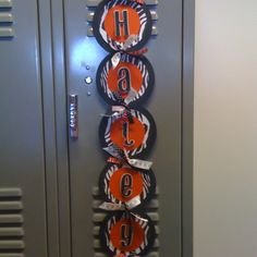 Cheerleading Signs Ideas | Name banner for locker, bedroom