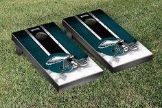 Philadelphia Eagles NFL Football Cornhole Game Set Vintage Version