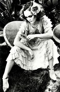 Vanessa Paradis. Johnny Depp's lady and mother to their children