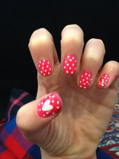 Throwback to my Valentine's Day nails
