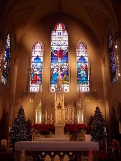 Alexandria LA | Visiting St. Francis Xavier Cathedral in Alexandria, LA.