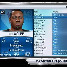 #NBA2K14 Je suis tombé sur ça pendant la draft. (c'est le producteur de séries tel que NY section criminelle)