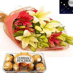 Midnight Sweet Memories : buy flowers online, buy cake online, send flowers, cakes to India