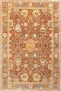Nomad - Cinnamon, hand-knotted pure wool carpet available at www.tigerrug.net
