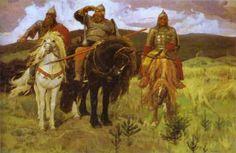 Three Bogatyrs Victor Vasnetsov